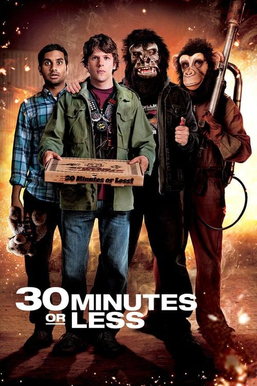 ดูหนังออนไลน์ฟรี 30 Minutes or Less (2011) 30 นาทีพี่ขอปล้น