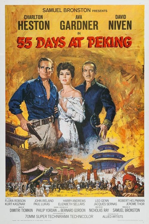 ดูหนังออนไลน์ฟรี 55 Days at Peking (1963) 55 วัน ใน ปักกิ่ง