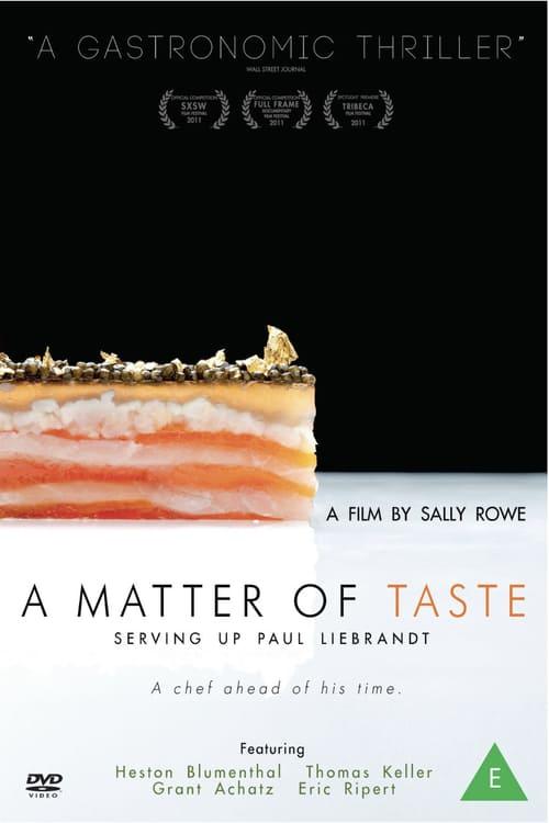 ดูหนังออนไลน์ฟรี A Matter of Taste Serving Up Paul Liebrandt (2011) เชฟอัจฉริยะ คว้าดาว