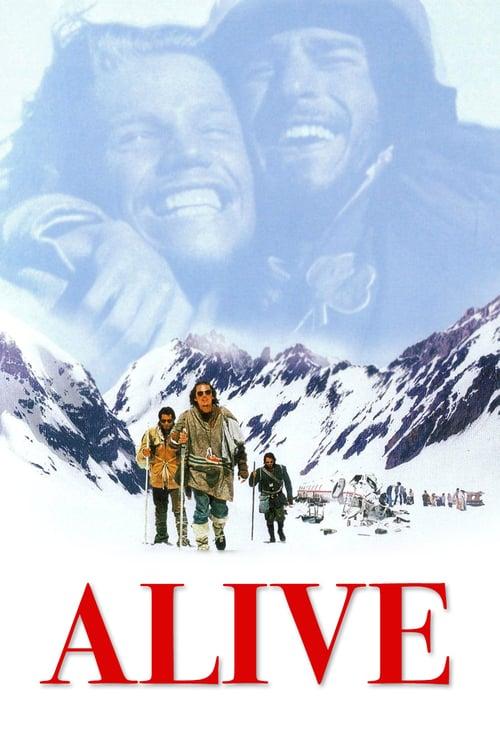 ดูหนังออนไลน์ฟรี Alive (1993) ปาฏิหาริย์สุดขั้วโลก (ซับไทย)