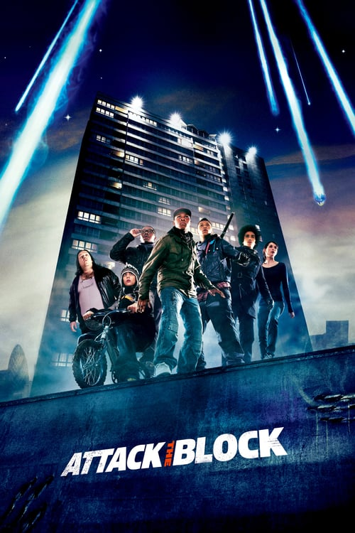 ดูหนังออนไลน์ฟรี Attack The Block (2011) ขบวนการจิ๊กโก๋โต้เอเลี่ยน
