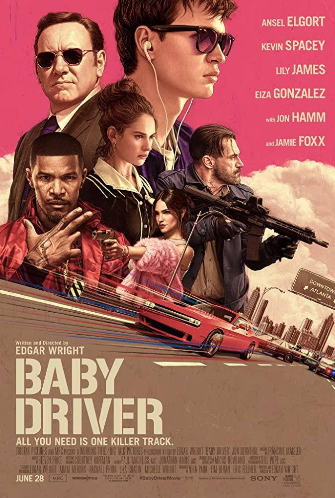 ดูหนังออนไลน์ฟรี Baby Driver (2017) จี้ เบบี้ ปล้น