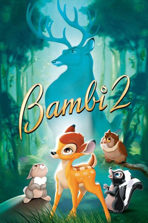 ดูหนังออนไลน์ฟรี Bambi 2 (2006) กวางน้อย…แบมบี้ 2