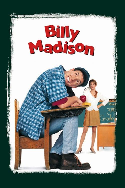 ดูหนังออนไลน์ฟรี Billy Madison (1995) บิลลี่ แมดิสัน นักเรียนสมองตกรุ่น