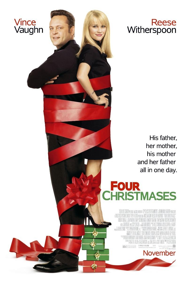ดูหนังออนไลน์ฟรี Four Christmases (2008) คู่รักอลวนลุยคริสต์มาสอลเวง