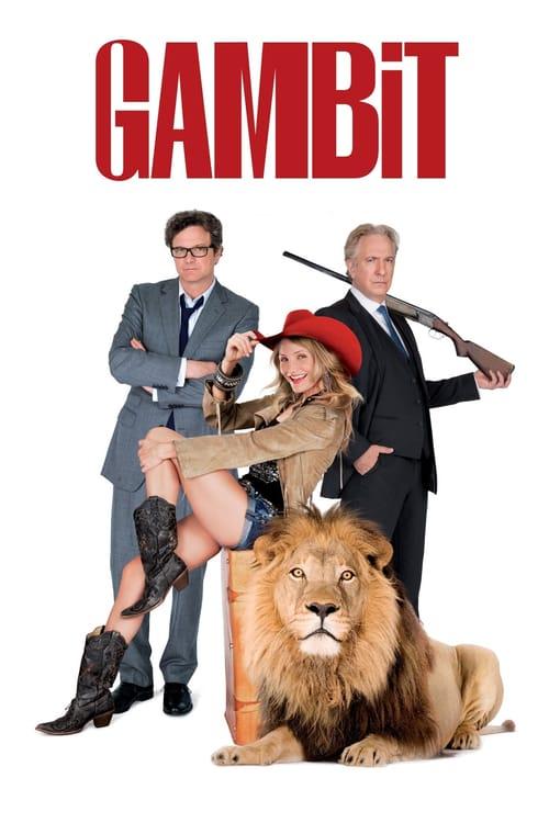 ดูหนังออนไลน์ฟรี Gambit (2012) บิดเหลี่ยมตุ๋นวุ่นดับเบิ้ล