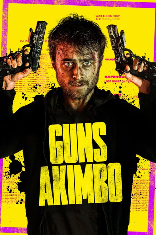 """ดูหนังออนไลน์ฟรี Guns Akimbo (2020) โทษที… มือพี่ไม่ว่าง [Soundtrack บรรยายอังกฤษ] """"มาก่อนวันฉายจริง"""""""