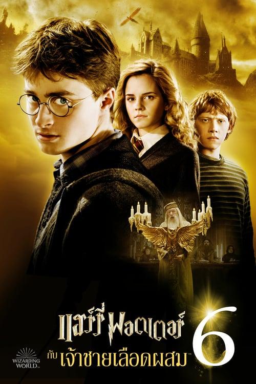 ดูหนังออนไลน์ฟรี Harry Potter 6 (2009) แฮร์รี่ พอตเตอร์ กับ เจ้าชายเลือดผสม