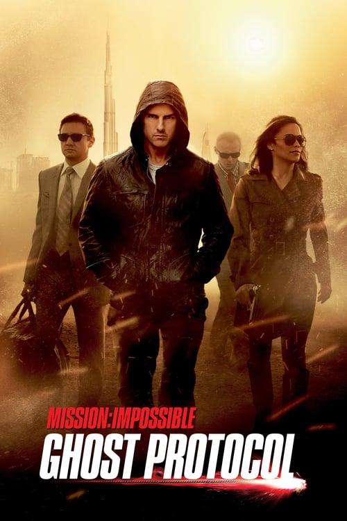 ดูหนังออนไลน์ฟรี Mission: Impossible 4 – Ghost Protocol (2011) มิชชั่นอิมพอสซิเบิ้ล 4 ปฏิบัติการไร้เงา
