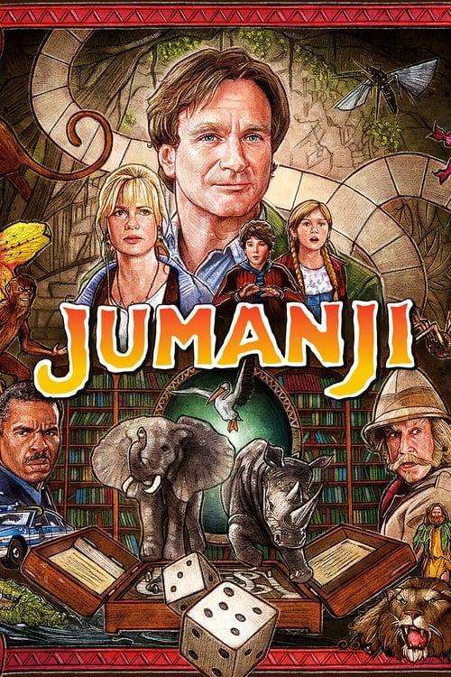 ดูหนังออนไลน์ฟรี Jumanji (1995) จูแมนจี้ เกมดูดโลกมหัศจรรย์
