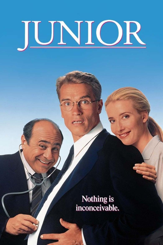 ดูหนังออนไลน์ฟรี Junior (1994) จูเนียร์ ผู้ชายทำไมท้อง