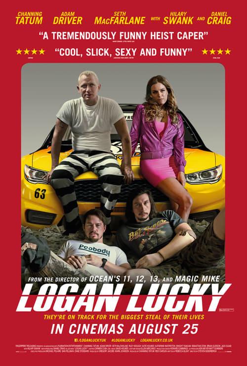 ดูหนังออนไลน์ฟรี Logan Lucky (2017) แผนปล้นลัคกี้ โชคดีนะโลแกน
