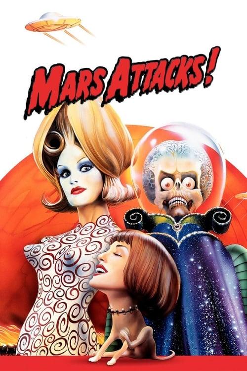 ดูหนังออนไลน์ฟรี Mars Attacks (1996) สงครามวันเกาโลก