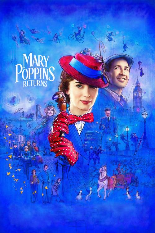 ดูหนังออนไลน์ฟรี Mary Poppins Returns (2018) แมรี่ ป๊อบปิ้นส์ กลับมาแล้ว