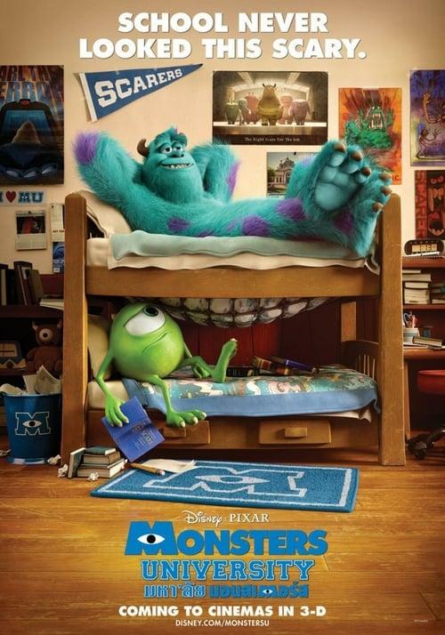 ดูหนังออนไลน์ฟรี Monster University (2013) มหาลัยมอนสเตอร์
