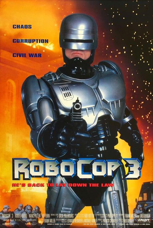 ดูหนังออนไลน์ฟรี Robocop 3 (1993) โรโบคอป 3