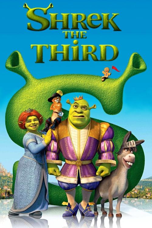 ดูหนังออนไลน์ฟรี Shrek 3 (2007) เชร็ค 3