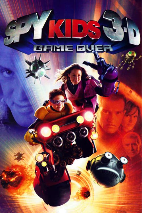 ดูหนังออนไลน์ฟรี Spy Kids 3  Game Over (2003) พยัคฆ์ไฮเทค 3 มิติ
