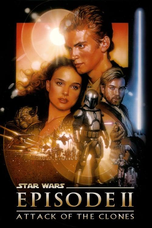 ดูหนังออนไลน์ฟรี Star Wars Episode 2 Attack of the Clones (2002) สตาร์ วอร์ส เอพพิโซด 2 กองทัพโคลนส์จู่โจม