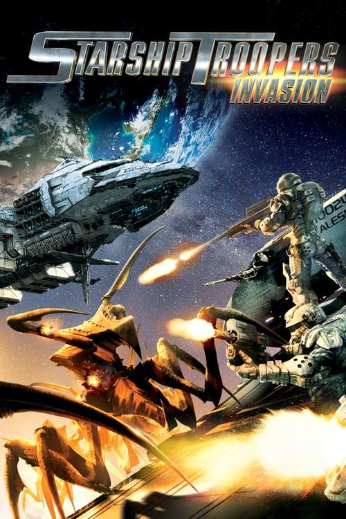 ดูหนังออนไลน์ฟรี Starship Troopers Invasion (2012) สงครามหมื่นขาล่าล้างจักรวาล 4 บุกยึดจักรวาล