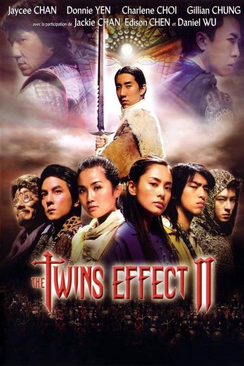 ดูหนังออนไลน์ฟรี The Twins Effect 2 Blade of Kings (2004) คู่ใหญ่พายุฟัด 2