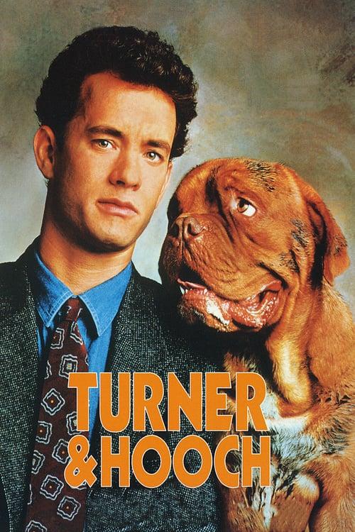 ดูหนังออนไลน์ฟรี Turner & Hooch (1989) หล่อโย่งย่นบึ้ก