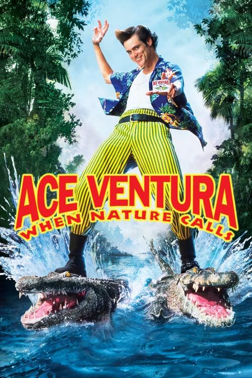 ดูหนังออนไลน์ฟรี Ace Ventura: When Nature Calls 2 (1995) ซุปเปอร์เก๊กกวนเทวดา 2