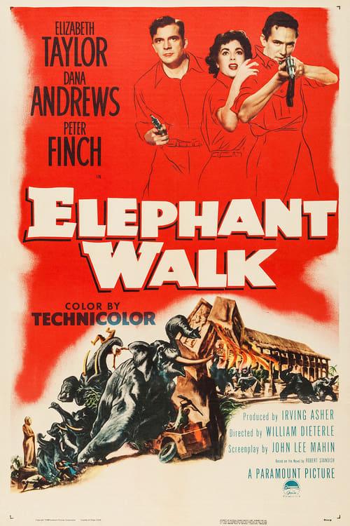 ดูหนังออนไลน์ฟรี Elephant Walk (1954)