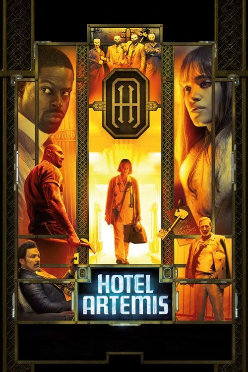 ดูหนังออนไลน์ฟรี Hotel Artemis (2018) โรงแรมโคตรมหาโจร