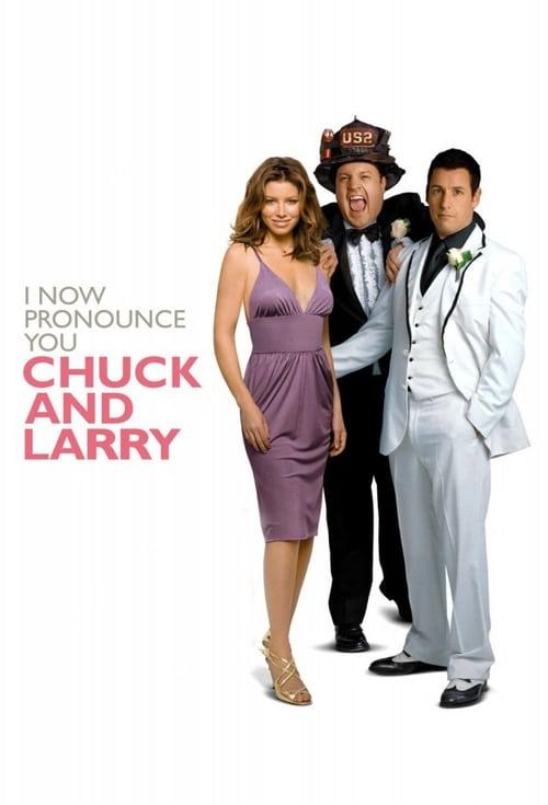 ดูหนังออนไลน์ฟรี I Now Pronounce You Chuck & Larry (2007) คู่เก๊วิวาห์ป่าเดียวกัน