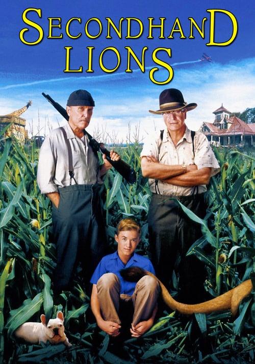 ดูหนังออนไลน์ฟรี Secondhand Lions (2003) ผจญภัยเหนือทุ่งฝัน