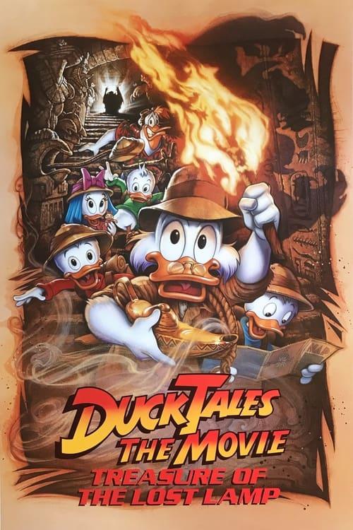 ดูหนังออนไลน์ฟรี DuckTales The Movie Treasure of the Lost Lamp (1990)