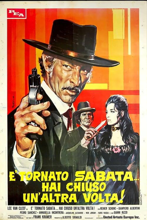 ดูหนังออนไลน์ Return of Sabata (1971) ซาบาต้า ปืนมหัศจรรย์