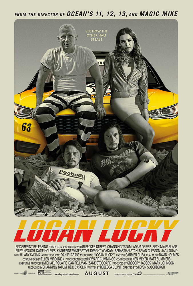 ดูหนังออนไลน์ [NETFLIX] Logan Lucky (2017) แผนปล้นลัคกี้ โชคดีนะโลแกน