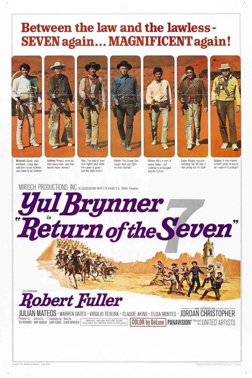 ดูหนังออนไลน์ Return of the Seven (1966) เจ็ดสิงห์แดนเสือ ภาค 2