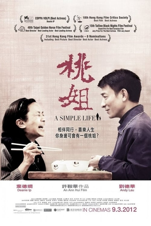 ดูหนังออนไลน์ฟรี A Simple Life (2011) แค่เธอยิ้ม หัวใจก็อิ่มรัก