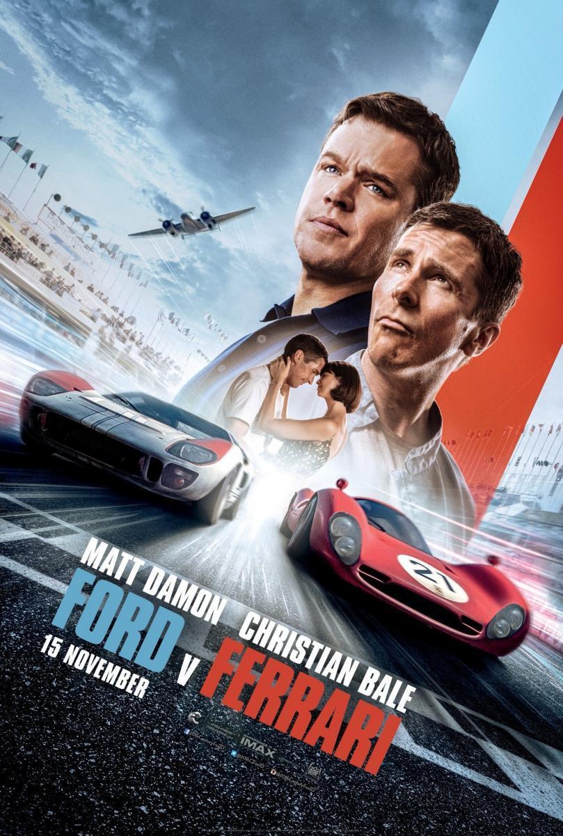 ดูหนังออนไลน์ฟรี Ford V Ferrari (2019) ใหญ่ชนยักษ์ ซิ่งทะลุไมล์