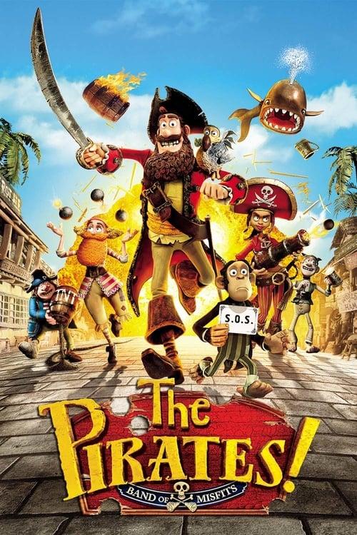 ดูหนังออนไลน์ The Pirates Band Of Misfits (2012) กองโจรสลัดหลุดโลก