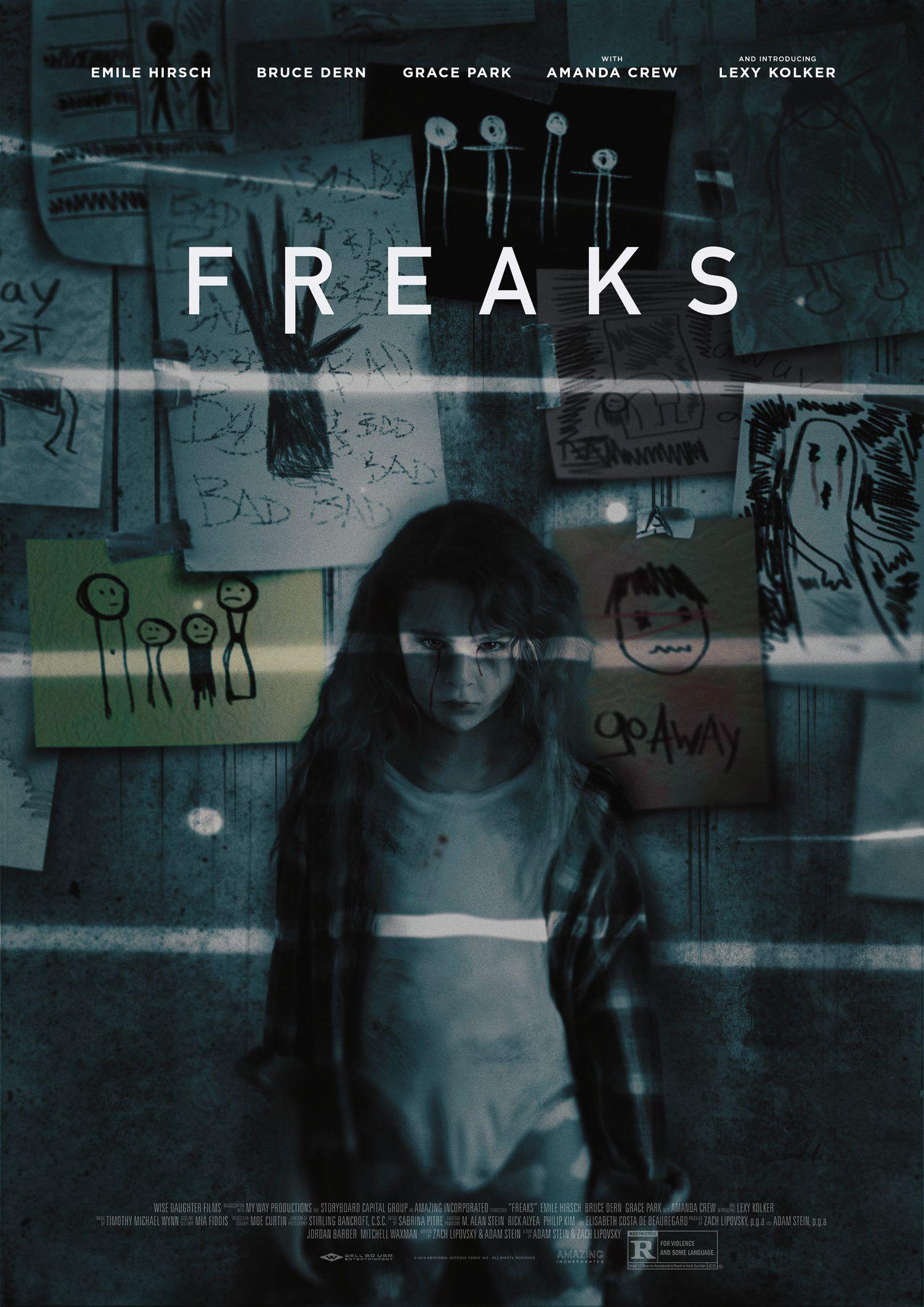 ดูหนังออนไลน์ฟรี Freaks (2018) คนกลายพันธุ์