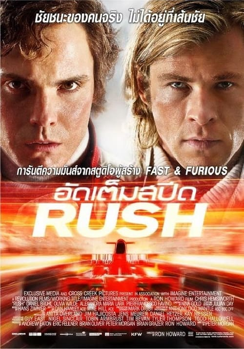 ดูหนังออนไลน์ฟรี Rush (2013) อัดเต็มสปีด