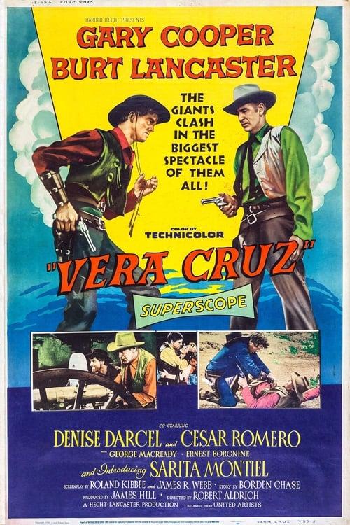 ดูหนังออนไลน์ฟรี Vera Cruz (1954) สองสิงห์เวราครูซ